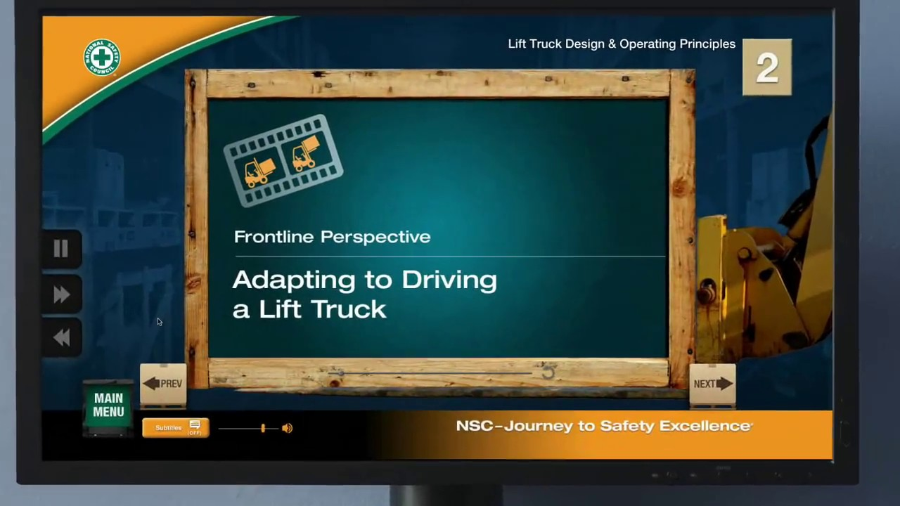 National safety council forklift training for lift truck operators national safety council forklift training for lift truck operators xflitez Choice Image
