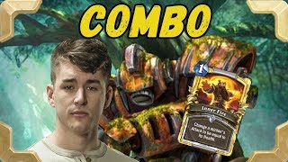 Firebat is getting legend with a Combo Priest (The Witchwood)