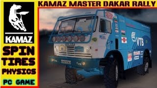 Spin Tires Kamaz Master Dakar Rally Truck Physics HD