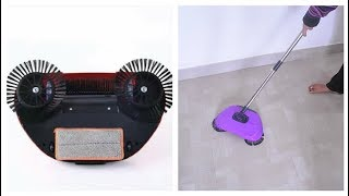 Does It Work? Spinning Broom/Rotating Sweeper