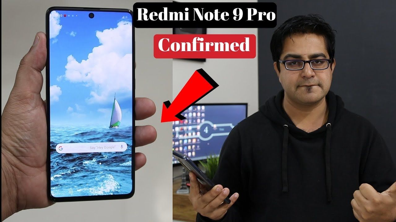 Redmi Note 9 Pro Confirmed Specifications !