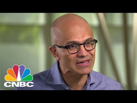 Microsoft CEO Satya Nadella On The Cloud Computing Industry