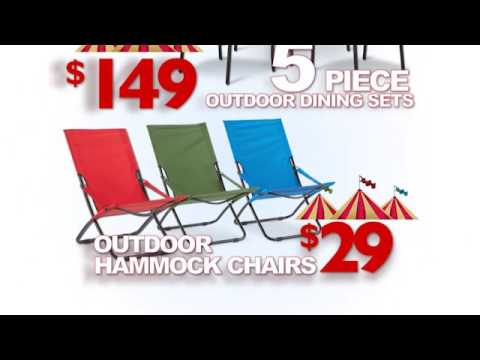 Art Van Furniture Tent Sale, Outdoor Dining Sets $149