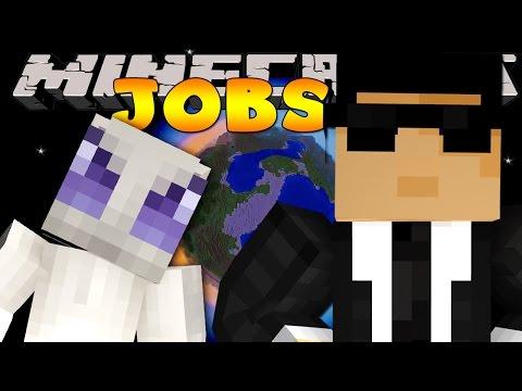 Minecraft Jobs - SECRET AGENTS! (Custom Roleplay)