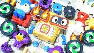 こんにちわ ようへいDXです。2016年11月22日発売 ヘボット! くみかえ合体シリーズ 全4種類 各お値段税別380円です。 ①ボキャボット ヘボッ...