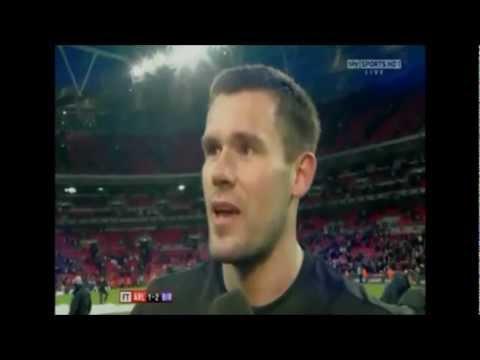 Ben Foster Interview - Carling Cup Final 2011