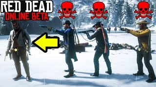 DO WHAT I SAY OR YOU DIE in Red Dead Online! RDR2 Online Funny Moments