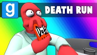 Gmod Deathrun Funny Moments - Simpsons Map 2! (Garry