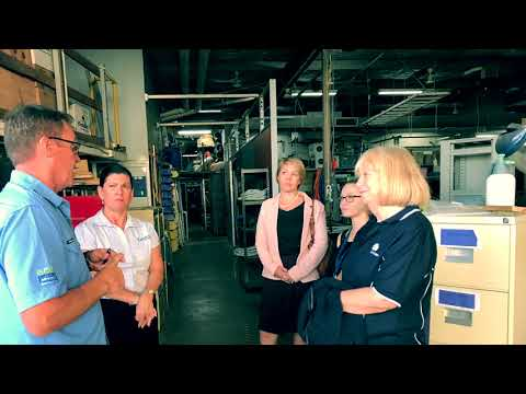 Port of Townsville visits Reef HQ & the Turtle Hospital