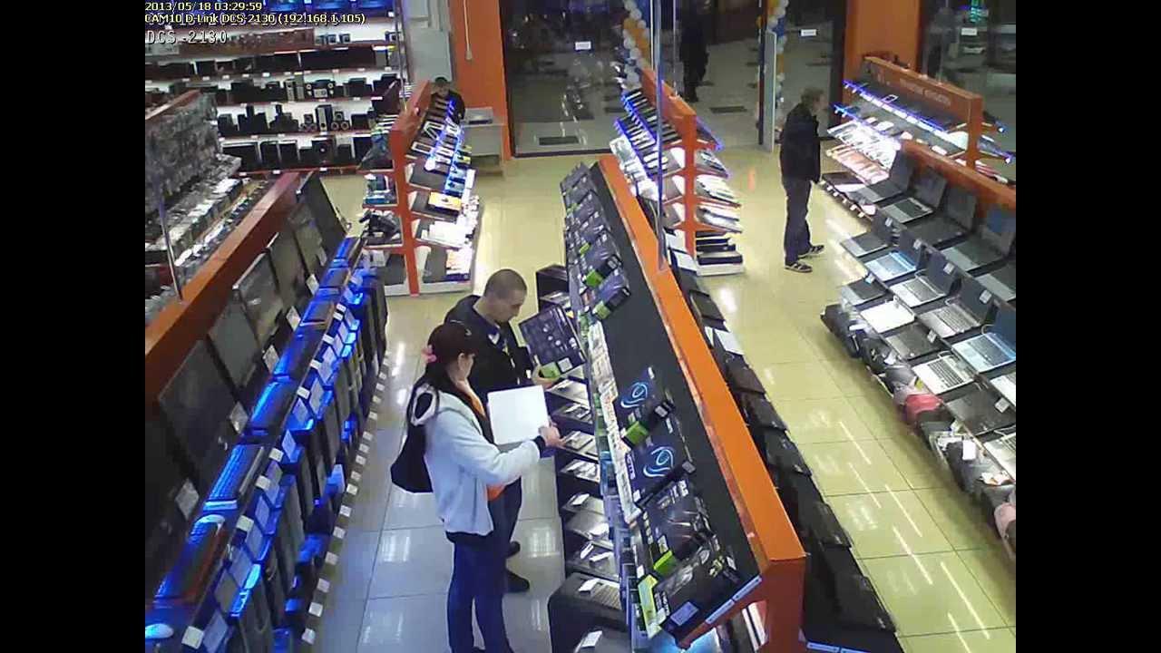 Как воруют в магазине ДНС. - YouTube