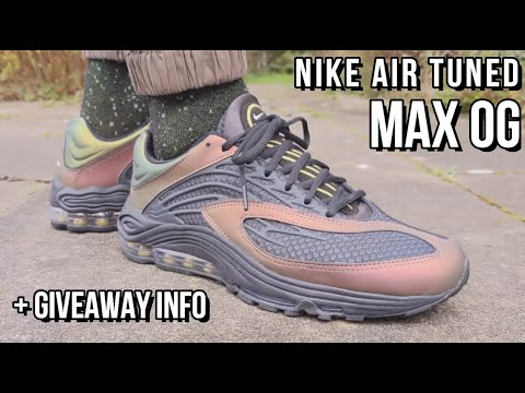 NIKE AIR TUNED MAX REVIEW - On feet, comfort, weight, breathability and price review