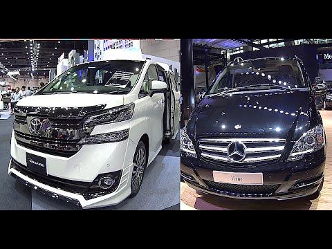 2016, 2017 Toyota Vellfire VS Mercedes Sprinter, Vito, Viano, luxury VAN Motorhome