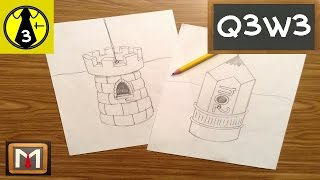 Designing And Drawing An Unusual Bird House