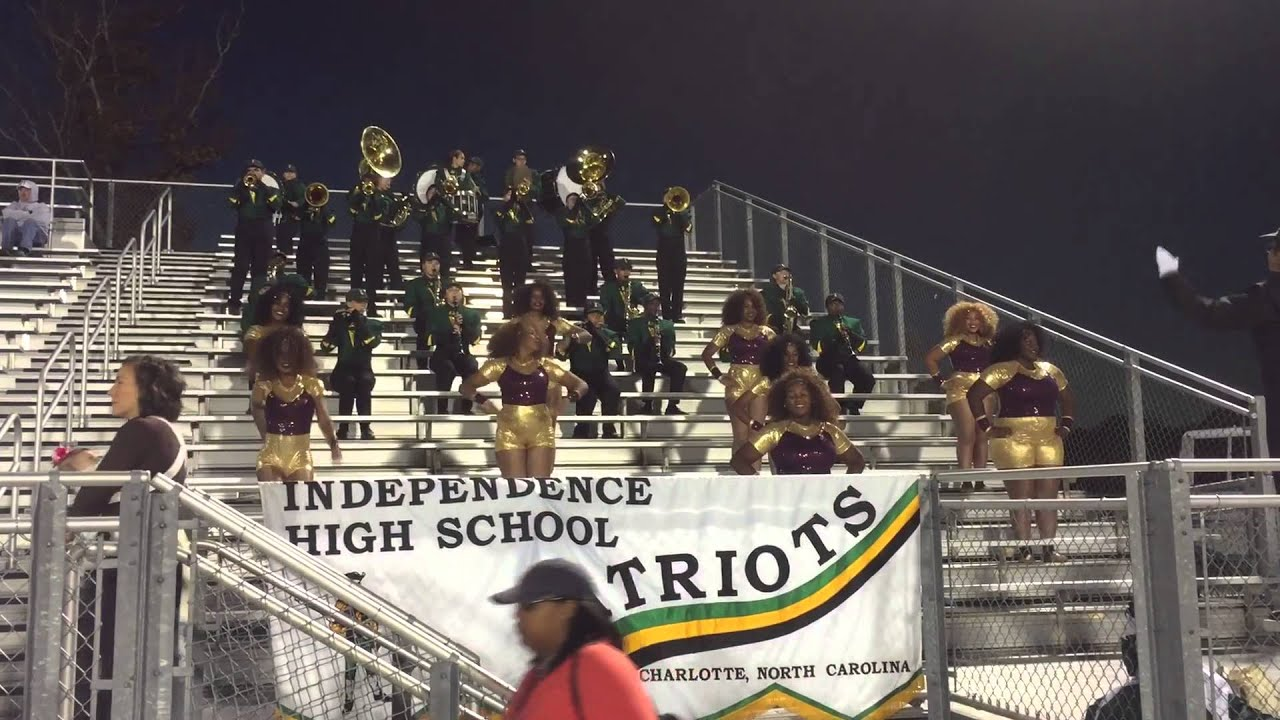 independence high school marching band gold n motion respect