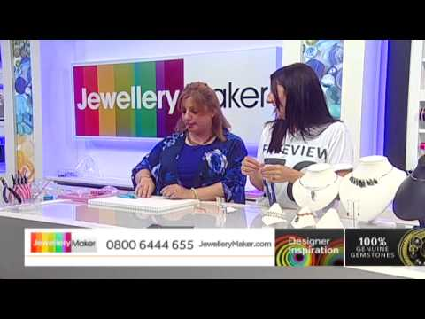 Chain Maille with Fleur Hastings - JewelleryMaker DI LIVE 30/07/15