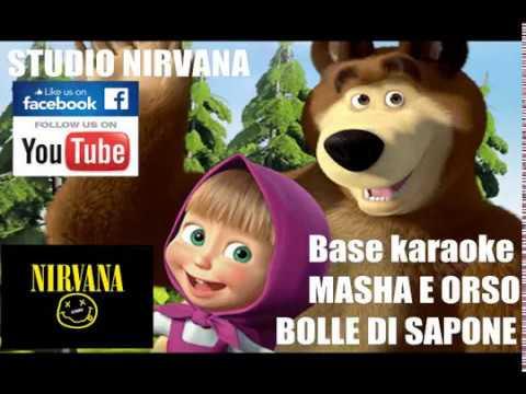 MASHA E ORSO - BOLLE DI SAPONE (INSTRUMENTAL KARAOKE SOUNDTRACK) - GIORNO DI BUCATO