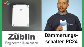 Dämmerungsschalter Züblin 7520 PC24 mit integriertem Timer