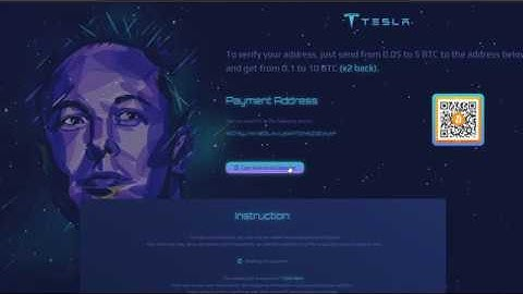 DON'T GET SCAMMED BY THE 5K BTC GIVEAWAY FROM SPACEX