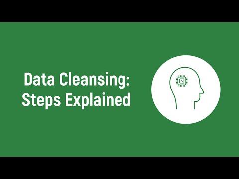 Data Cleansing Steps & Phases | Data Cleansing Tutorial (2019) | Data Science Tutorial