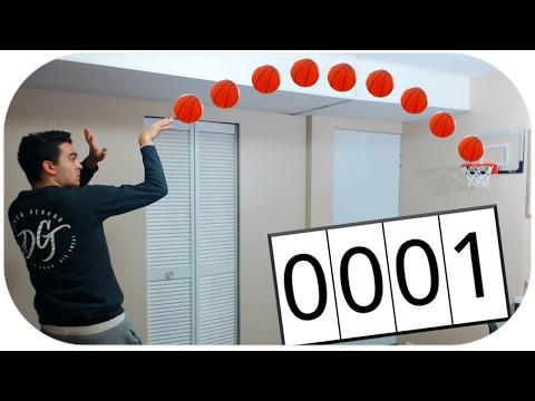 Scoring 1000 Baskets In One Video