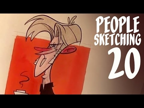 Breaking into the Animation Industry - people sketching episode 20