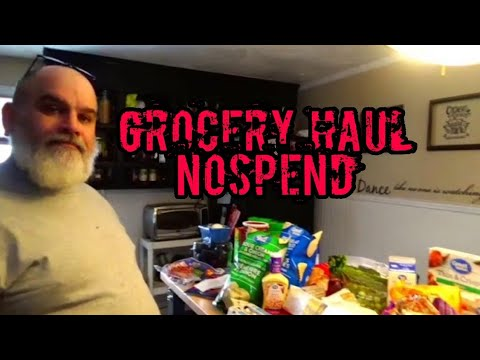 Grocery Haul | Passive Income No Spend | 3rd Week Of January 2020