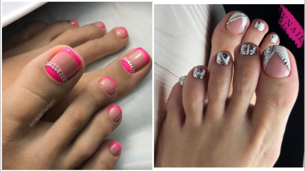new arrivals and stylish women toe nail art designs and stylish ideas for girls 2020
