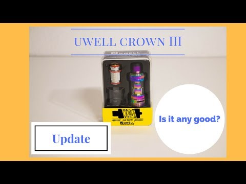 Uwell Crown III Update: My impressions after a month of use