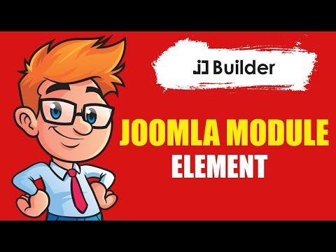 How To Use Joomla Module Element In JD Builder
