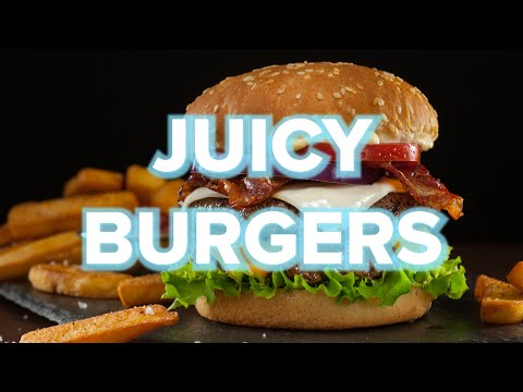 9 Juicy Homemade Burger Recipes