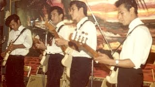 The Tielman Brothers - Ginchy (live audio tape1962)