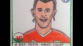 Helen Love - A Boy From Wales Called Gareth Bale (unofficial Euro 2016 anthem)