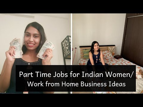 Part Time Jobs for Indian Women | Work From Home Business Ideas | In Hindi | Apurva's Stories