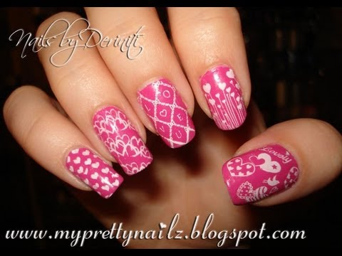 Konad valentines day love nail art stamping tutorial youtube konad valentines day love nail art stamping tutorial prinsesfo Choice Image