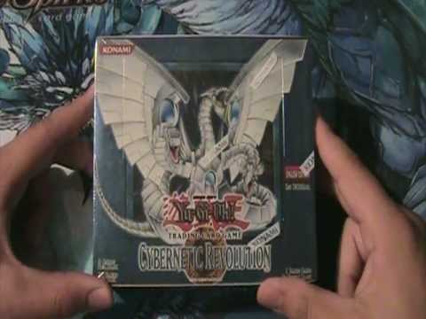 Best Yugioh 2005 Cybernetic Revolution 1st Edition Box Opening Ever!