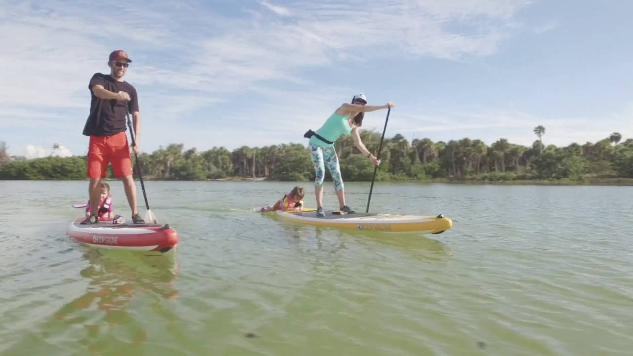 6a7ea42fc07b Body Glove Performer 11 - Best Family Paddleboard In The World - YouTube
