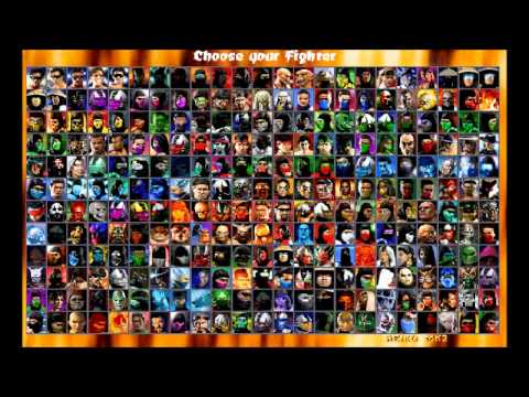 Mortal Kombat Chaotic All Characters Youtube
