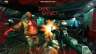 Dead effect  игры на android c джойстиком