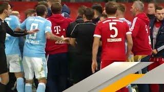 Rot und Rudelbildung: Derby-Pleite für 1860 München gegen FC Bayern   SPORT1