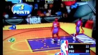 NBA on NBC Showtime Lakers vs Suns
