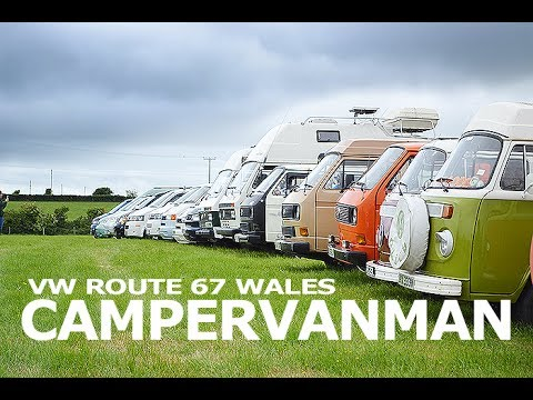 VW Route 67 - VW Campers do the west coast of Wales