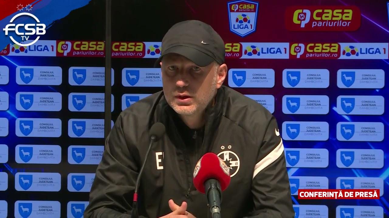 Conferință de presă după Chindia – FCSB 0-1!