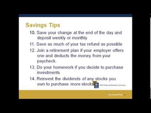 Pay Yourself First - Saving! presented by Community Credit Counselors Inc.
