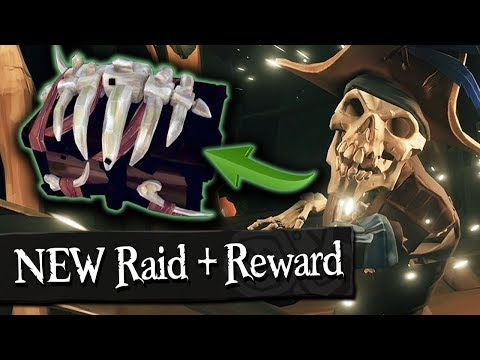 NEW SKELETON RAID + VAULT OPENED! - Sea Of Thieves (Final Beta)