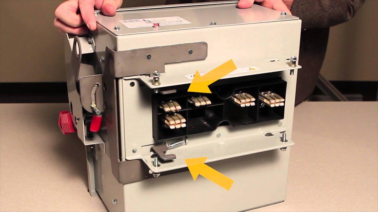 Sentron Slvb Series Bus Plug Installation Youtube Electrical Wiring Diagram