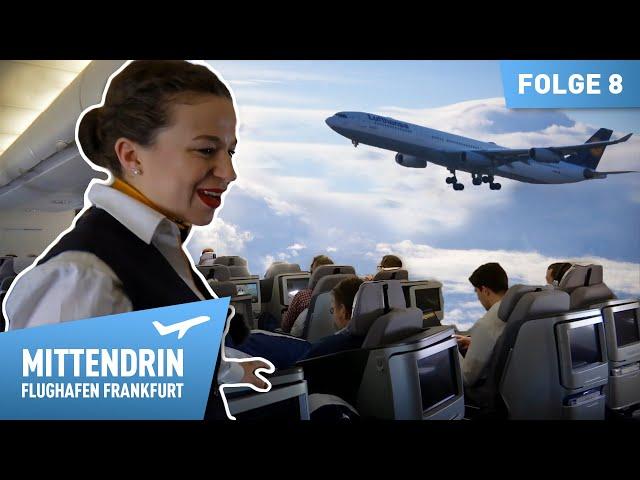 Flugbegleiterin Antonia - Ihr erster Flug | Mittendrin - Flughafen Frankfurt (8)