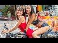 BEAUTIFUL THAILAND LADIES AND MOTORBIKES OF PATTAYA | Vlog 3