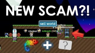 Growtopia   NEW SCAM WITH CHAMELEON?!