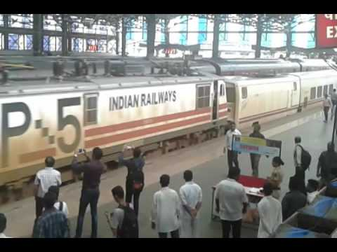 It's in Mumbai - The high speed Talgo train, Make Mumbaikar on wait coz delay due to rain