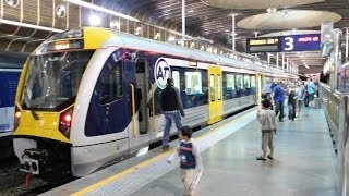 New Electric Trains for Auckland New Zealand 2014.